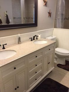 Home Decorators Collection Hamilton 61 In. W X 22 In. D Double Bath Vanity  In Ivory With Granite Vanity Top In Grey