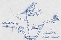 Tracy Emin reimagines London's underground map as tree branches