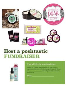 Fundraisers with Posh! Contact me today