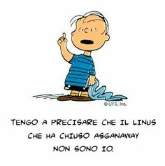 Linus #asganawaynondevefinire