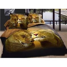 Sweet Love 100% Cotton 3D Animal Print Bedding Sets