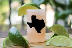 Q&A TEXAS Home State Himalayan Salt Shot Glass