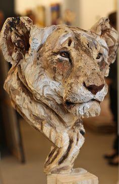 Jürgen Lingl-Rebetez ~ Wood Sculpture