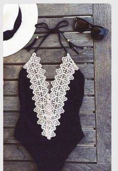 [ $22.00 ] SEXY LACE DEEP V SWIMSUIT 7509495