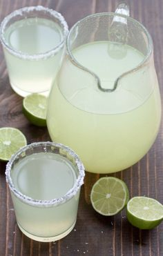 Perfect Pitcher Margarita recipe for a crowd. All you need is fresh lime juice, triple sec, and tequila. These make the best party drink!