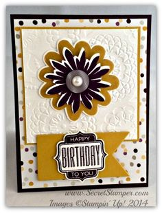 Flower Patch, Flower Fair, Tag Talk, Stampin' Up!