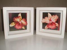 6bc8c877e Quadro Flores Vermelhas 3D Quem quiser adquirir é só acessar minha loja  virtual  www.elo7.com.br artesanatosjuliana