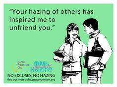 National Hazing Prevention Week #NHPW