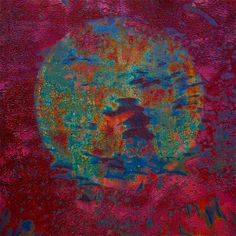 Orb by Stephen Reed. Abstract Art Images, Weathered Paint, Nature Artwork, Color Harmony, Rust Color, Sacred Art, Heart Art, Abstract Pattern, Fiber Art