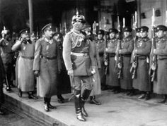 August von Mackensen with the Bulgarian Crown Prince Boris, 1916
