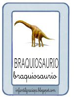 """Aquí tenemos las tarjetas del vocabulario que vamos a usar para trabajar el mundo de""""Los Dinosaurios""""         ..."""