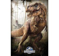 Jurassic World Poster T-Rex. Hier bei www.closeup.de
