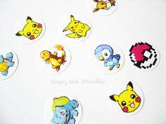 DIY pokémon stickers