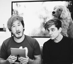 Mark and Ethan || Markiplier's Crisis Text Line Charity Livestream // 11/19/17
