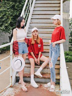 My Korean streetwear inspo album for the ladies! http://yotsaba.com/korean-female-inspo-album/
