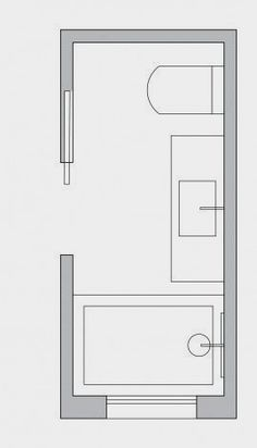 Small Bathroom Layout Ideas From An Architect To Optimize Space [Small Bathroom Ideas, Small Bathroom Remodel, Bathroom Layout, Bathroom Floor Plans, Bathroom Design] BathroomDesign BathroomIdeas BathroomRemodel Small Bathroom Layout, Bathroom Design Layout, Bathroom Interior Design, Bath Design, Tile Layout, Small Bathroom Floor Plans, Bathroom Layout Plans, Tile Design, Small Bathroom Designs