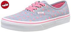 Vans Mädchen Uy Authentic Sneakers, Blau (Chambray Hearts Blue/True White), 28 EU (*Partner-Link)