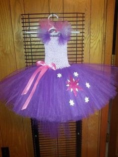 My little pony Twilight Sparkle tutu dress by Fancythatcreation, $35.00