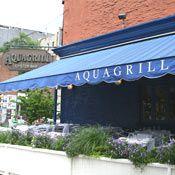 AQUAGRILL, NY, SoHo, love it.