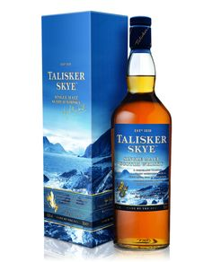 "Talisker Skye Whisky Reflects ""Rugged Wild Beauty"" Of Its Island Origins - The Whiskey Wash Scotch Whisky, Fun Drinks, Alcoholic Drinks, Cocktails, Talisker Whisky, Whiskey Bottle, Vodka Bottle, Whisky Festival, Strong Drinks"