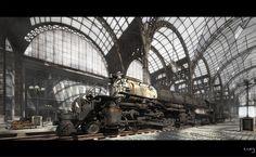 Union Pacific Big Boy final by ~nieaCry  #Train #Station