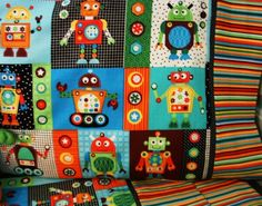 I already have a mini diaper bag in this pattern with primary colors for either boy or girl!