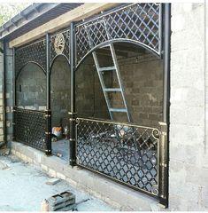 Metal Projects, Welding Projects, Diy Projects, Wall Decor Design, Door Design, Roof Truss Design, Roof Trusses, Grades, Steel Art