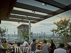 Best rooftop bars in NYC for outdoor drinking with a view