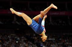 Alexandra Raisman of the United States competes on the beam during the Artistic Gymnastics Women's Beam final on Day 11 of the London 2012 Olympic Games at North Greenwich Arena on August 7, 2012 in London, England.