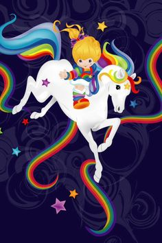 Rainbow Brite was my hero... no joke, I wanted to be her!!!