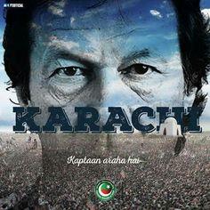 IK's next spot! Karachi!