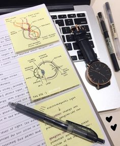 Post-It Notes are always so helpful! - - Post-It Notes are always so helpful! Study notes Haftnotizen sind immer so hilfreich! College Notes, School Notes, Med School, Study Organization, School Organization Notes, School Study Tips, Pretty Notes, Beautiful Notes, Study Hard