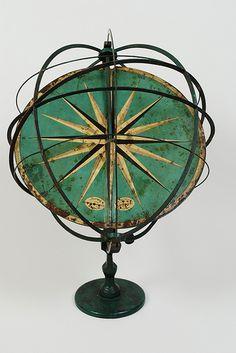 Sfera armillare/ Armillary sphere  #TuscanyAgriturismoGiratola