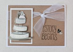 Handmade Wedding Card! See more at: www.facebook.com/LittleSomethingsCraftingCo