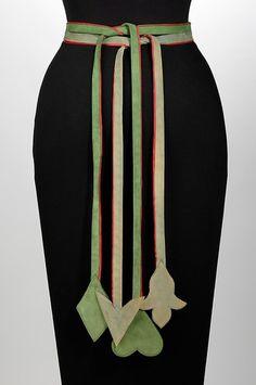 Belt Elizabeth Hawes, 1948 The Metropolitan Museum of Art