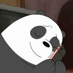 we bare bears panda We Bare Bears Wallpapers, Panda Wallpapers, Animes Wallpapers, Cute Wallpapers, Ice Bear We Bare Bears, 3 Bears, Cute Bears, Cartoon Memes, Cartoon Icons