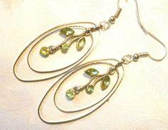 Earrings vintage. Romantic Delicate earrings. от Balticsummer