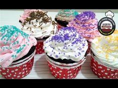 Cupcake - Bardak Kek Tarifi - YouTube