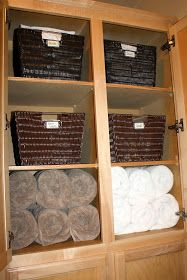 all things katie marie: Throwback Thursday ~ Linen Closet Organization