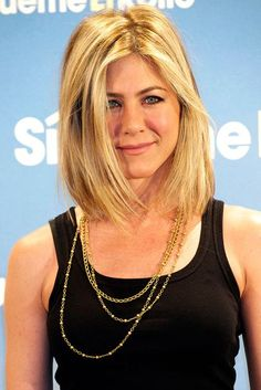 "[link url=""http://www.glamourmagazine.co.uk/person/jennifer-aniston""]Jennifer Aniston[/link] never gets it wrong when it comes to hair - and we love this long sun-kissed bob on the actress."