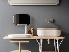 Bathroom furniture set OBLON by NOVELLO