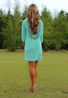 You Had Me From Hello Dress: Mint