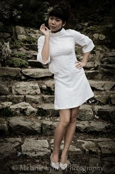 60's wedding dress upcycling,  discarded couture,  Jen Bell