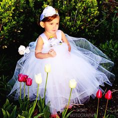 White Tulle Holiday Dress First Birthday Outfit Infant Baby Toddler Flower Girl Headband Bday Gift Idea Cake Smash Tutu Costume Set Tulle Flower Girl, Princess Flower, Flower Girl Headbands, Tulle Flowers, Designer Flower Girl Dresses, Toddler Flower Girls, Girl Trends, First Birthday Outfits, Tutu Costumes
