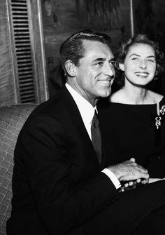 Cary Grant and Ingrid Bergman were lifelong besties