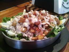 Steamed Chicken Caesar Salad   Thermomix Recipes