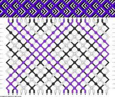 24 strings, 3 colors, 16 rows