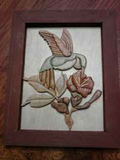 My new intarsia wood carving