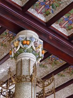 """See 1217 photos and 116 tips from 10218 visitors to Estació del Nord. """"One of the most beautiful train stations in Spain. Architecture Art Design, Art Nouveau Architecture, Architecture Details, Gaudi, Spain Travel, Four Square, Art Pieces, Around The Worlds, Art Deco"""
