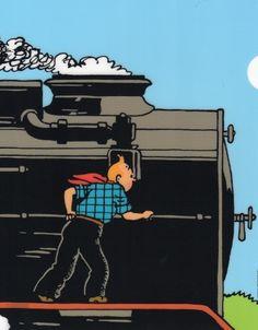 Tintin train..